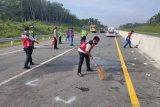 Kecelakaan maut pertama usai lebaran di Tol Pekanbaru - Dumai, dua tewas