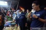 Sandiaga Uno paparkan 3 jurus tingkatkan daya saing parekraf di Yogya