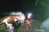 Sungai Pangkua Solok Selatan meluap, tiga rumah dan satu sekolah terendam