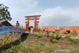 Jumlah pengunjung membeludak, objek wisata air Mejobo Kudus ditutup
