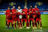 Ronaldo pimpin skuad penuh bintang Timnas Portugal untuk Eropa