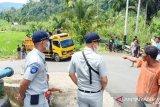 Dua korban meninggal dunia kecelakaan bus Pasaman Transport Express dapat santunan masing-masing Rp50 juta