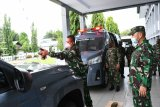 Dua mobil penanggulangan COVID-19 Lantamal VIII beroperasi