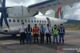 Pesawat Pertamina angkut gas elpiji dalam ujicoba Bandara Long Bawan Krayan