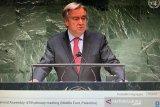 Sekjen PBB Antonio Guterres desak gencatan senjata segera di Gaza