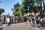 Langgar prokes, aksi peduli Palestina di Solo dibubarkan