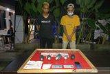 Dua pemuda selundupkan sabu dari Batam di NTB