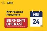KPP Pratama Purworejo berhenti beroperasi mulai 24 Mei 2021