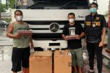 Bea Cukai Kudus gagalkan distribusi rokok ilegal diangkut truk sembako