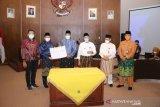 Bupati Siak tandatangani kesepakatan perbatasan dengan Kampar dan Rohul