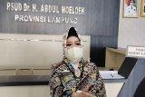 Dinkes Lampung catat selama sepekan ada 338 pemudik positif COVID-19