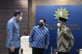 Erick Thohir dan Muhammad Lutfi bersilaturahim dengan Pimpinan Pusat Muhammadiyah