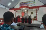 Hari Pentakosta diperingati secara sederhana di Papua