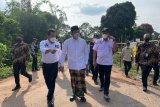 Pemprov Sumsel perbaiki jalan amblas di Desa Belatung OKU