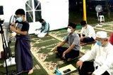 Antusiasme remaja kuliah subuh di tenda Masjid At Tabayyun, jelang Shalat Gerhana
