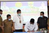 Pemkab Padang Pariaman-Kementan sepakati MoU peluncuran varietas unggul kelapa