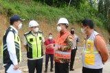 Progres pembangunan jalan penghubung Luwu dengan Torut capai 54 persen