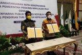 Pemprov Kepri dan TVRI lakukan MoU pendirian TVRI Stasiun Kepulauan Riau