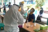 400 orang di Lapas Rajabasa Bandarlampung jalani rapid test antigen