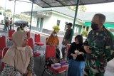 Kodim 0907/Tarakan Memberikan Vaksin Astra Seneca Pada Purnawirawan