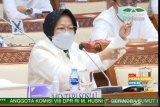 Mensos Risma sampaikan permasalahan data bansos ke Komisi VIII DPR