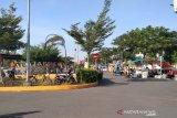 PKL dilarang jualan di Balai Jagong Kudus untuk cegah COVID-19