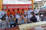Polisi Medan tangkap kurir bawa 40 kg sabu guakan modus modifikasi mobil