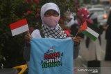 Aksi solidaritas untuk Palestina di Palu