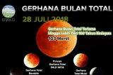 BMKG sebut gerhana bulan total terjadi 26 Mei