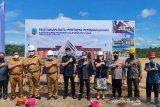 Gubernur Berharap Gedung DPRD Kaltara Memiliki Nilai Kearifan Lokal