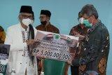 MUI serahkan bantuan Rp19,3 miliar untuk pembangunan rumah sakit di Palestina