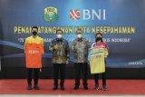 BNI resmi menjadi sponsor atlet bulu tangkis nasional