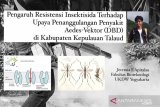 Pengaruh Resistensi Insektisida Terhadap Upaya Penanggulangan Penyakit aedes-vektor  (DBD) di Kabupaten Kepulauan Talaud
