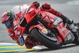 MotoGP - Pebalap Ducati Francesco Bagnaia pimpin FP2 GP Italia, Rins menempel ketat