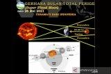 Jangan lupa, fenomena  Gerhana  Bulan Merah Super Rabu (26/5/2021) 18.18 Wib
