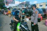 Polsek Pujut rutin gelar operasi yustisi di Pasar Tradisional Sengkol