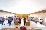 BPJAMSOSTEK bersama Pemprov Sulut serahkan santunan kematian ke 30 ahli waris