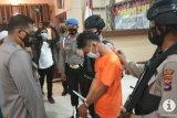 Pelaku pembunuhan cinta sejenis di Gambut terancam hukuman 15 tahun penjara