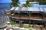 Waktu pembuatan kapal pinisi di Bonto Bahari Bulukumba