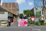 Akses jalan satu desa di Kudus ditutup sementara untuk tekan COVID-19