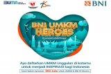 BNI gelar UMKM Heroes tingkatkan promosi produk lokal