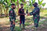 Satgas TNI Yonif 611 bantu bibit tanaman warga di perbatasan