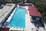 Kasal resmikan kolam renang militer Tirto Sagoro-05 Makassar Lantamal VI