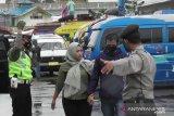 Dalam seminggu, aparat gabungan jaring ribuan pelanggar prokes di Bukittinggi