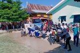 Puluhan tukik penyu hijau dilepasliarkan di Pulau Barang Caddi Makassar