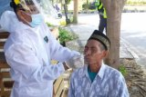 Polresta Mataram gelar vaksinasi lansia dan swab antigen