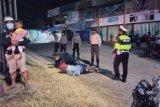 Terciduk bawa senjata tajam, tiga pemuda di Alas diangkut polisi