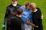 De Bruyne patah tulang hidung dan rongga mata