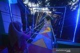 Jembatan gantung Desa Jadi Objek Wisata