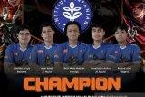 Tim e-sports mahasiswa IPB menangkan kejuaraan Unity Student Warchief 2021